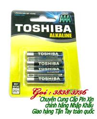 Pin AAA 1,5V Toshiba LR03GCN_BP4 Alkaline chính hãng | Còn hàng - Vỉ 4 viên