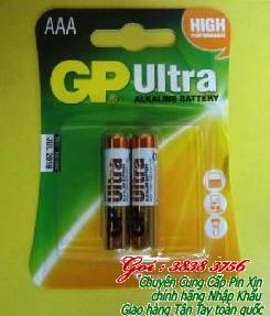 Pin AAA GP 24AU-2AS2 Alkaline 1.5V chính hãng   TẠM HẾT HÀNG