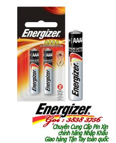 Pin Energizer E96-BP2, LR8D425; Pin AAAA 1.5v Alkaline Energizer E96-BP2, LR8D425 ( vỉ vuông thị trường Mỹ) Vỉ 2viên