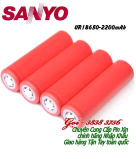 Pin sạc 3,7V Li-Ion Sanyo UR18650A - 2200mAh chính hãng - Made in Japan | Còn hàng