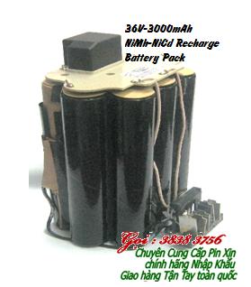 Pin sạc 36V-3000mAh NiMh-NiCd, Pin sạc Máy khoan NiMh 36V-3000mAh chính hãng | còn hàng