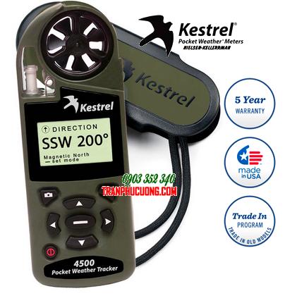 Máy đo vi khí hậu và quan trắc thời tiết Kestrel 4500 Weather Meter | Mẫu cũ hãng bỏ mẫu hết HÀNG - hết sản xuất-sử dụng Kestrel 5500 thay thế