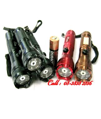 Đèn pin siêu sáng bóng LED Police GH-560, vỏ màu đồng- đen và đỏ | hàng có sẳn - Bảo hành 1 tháng
