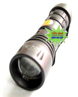 Đèn pin siêu sáng Smiling shark SS-8028 với bóng CREE LED và thấu kính lồi | hàng có sẳn - Bảo hành 1 năm