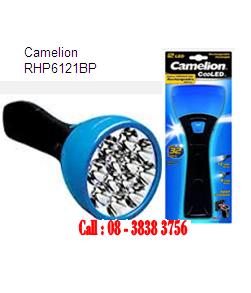 Đèn pin sạc điện Camelion RHP6121BP, đèn pin siêu sáng 12 bóng LED cỡ lớn | Bảo hành 6 tháng - tạm hết hàng