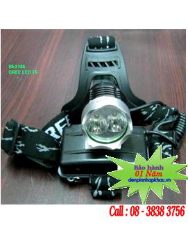 Đèn pin đội đầu Siêu sáng SS-2188 bóng CREE LED T6 chiếu xa 100-200m | hàng có sẳn