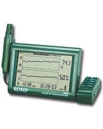 Ẩm kế Extech RH520A-220 Humidity+Temperature Chart Recorder with Detachable Probe (220V)  chính hãng Extech USA | Đặt hàng