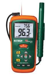 Máy đo độ ẩm Extech RH101 Hygro-Thermometer + InfraRed Thermometer chính hãng Extech USA | Đặt hàng