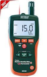 Máy đo độ ẩm Extech MO290 Pinless Moisture Psychrometer + IR chính hãng Extech USA | Đặt hàng