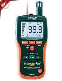 Máy đo độ ẩm Pinless Moisture Psychrometer + IR Thermometer chính hãng Extech USA | Đặt hàng