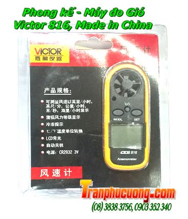 Phong kế VIctor 816, Dụng cụ đo gió cầm tay Victor 816 Made in China | Bảo hành 3 tháng - Có sẳn hàng