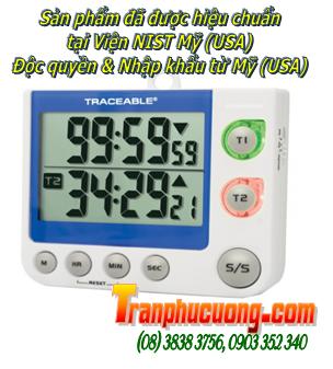 Đồng hồ bấm giây 5017 Traceable® Flashing LED Big-Digit Dual Channel chính hãng Control USA|CÓ SẲN HÀNG