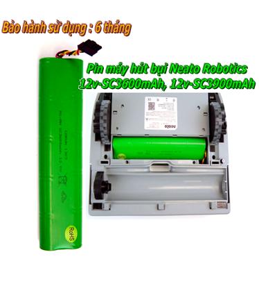 Pin máy hút bụi Nito Robotics12V-SC3900mAh NiMh sạc chính hãng | Bảo hành 6 tháng