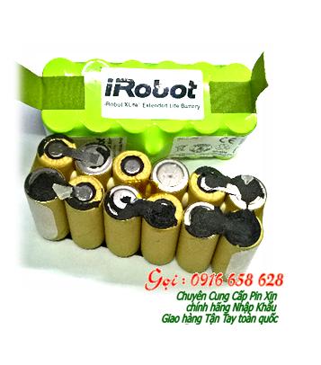 Pin máy hút bụi IRobot 12V-SC2000mAh, Thay ruột pin máy hút bụi Irobot 12V-SC2000mAh chính hãng - Bảo hành 6 tháng