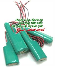 Pin sạc đèn sự cố NiMh-NiCd 6v-SC2000mAh , Pin đèn thoát hiểm, Pin đèn Exit chính hãng| Bảo hành 9 tháng - Hàng có sẳn