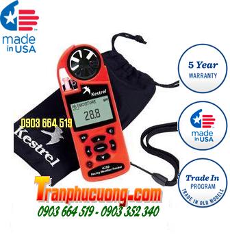 Máy đo vi khí hậu Kestrel 4250 Racing Weather Tracker [HSX: Kestrel Meter, Nielsen-Kellerman made in USA] / Đặt hàng