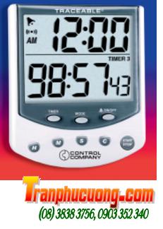 Đồng hồ đếm lùi - đếm tiến 03 kênh 5009 Traceable® Big-Foot Timer chính hãng Control USA | HÀNG CÓ SẲN