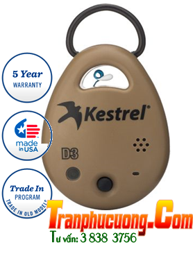 Máy đo vi khí hậu Kestrel DROP D3 Wireless Temperature, Humidity & Pressure Data Logger - Made in USA| HÀNG CÓ SẲN