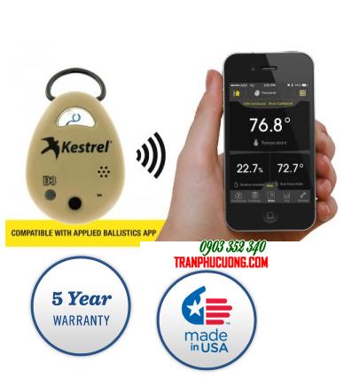 Máy đo vi khí hậu cho Quân Đội Kestrel Drop 3 WIRELESS TEMPERATURE, HUMIDITY, & PRESSURE MONITOR AND DATA LOGGER| HÀNG CÓ SẲN
