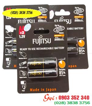 Pin sạc AA Fujitsu HR-3UTHC (2B) -Min2450mAh,Max2700mAh- 1.2V chính hãng Fujitsu Made in Japan| hàng có sẳn