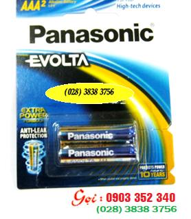 Pin Panasonic LR03EG/2B; Pin AAA 1.5v Panasonic Evolta LR03EG/2B Made in ThaiLand - Vỉ 2viên