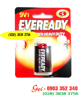 Pin Eveready 1222-BP1 SHD 9V 6F22 Super Heavy Duty chính hãng Evereay Made in Indonesia