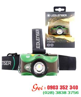 Đèn pin đội đầu siêu sáng LED LENSER MH4 với 200lumens chiếu xa 130m | HÀNG CÓ SẲN