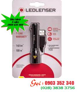 Đèn pin siêu sáng Led Lenser P5R với 400lumens chiếu xa 240m, sử dụng pin ICR14500-3.7v