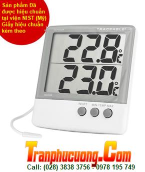 Nhiệt kế tủ lạnh/ tủ thuốc/ tủ đông 4126 Traceable® Big-Digit Memory Thermometer chính hãng |Tạm hết hàng