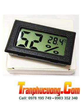Nhiệt ẩm kế mini V2 màn hình điện tử LCD, đo nhiệt độ và độ ẩm môi trường | HÀNG CÓ SẲN