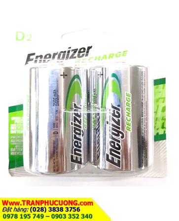 Pin sạc đại D Energizer NH50 BP2 - D2500mAh - 1.2V | hàng có sẳn