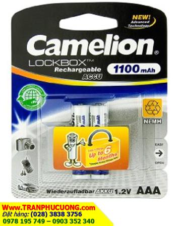 Pin sạc Camelion NH-AAA1100LBP2 New Advance Techonoloy Lockbox AAA1100mAh-1.2V/có sẳn
