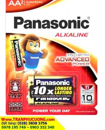 Panasonic LR6T/2B; Pin AA Panasonic LR6T/2B Alkaline 1,5V chính hãng _Made in Thailand | còn hàng