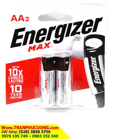 Pin AA Energizer E91BP2 Max Power Seal alkaline 1,5v chính hãng-Made in Singapore | còn hàng