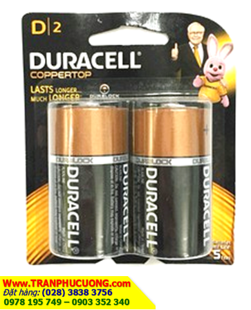 Pin đại D 1,5v Duracell MN1300/LR20 Alkaline chính hãng Duracell | còn hàng