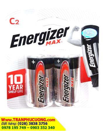Pin trung C 1,5V Energizer E93 BP2 chính hãng Energizer - Made in USA | còn hàng