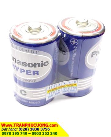 Pin trung C Panasonic R14UT/2S Hyper chính hãng Panasonic | còn hàng
