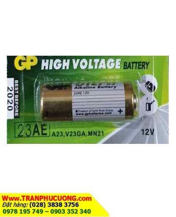 Pin 12V GP 23AE High Voltage Alkaline chính hãng| hàng có sẳn - mẫu mới | HÀNG CÓ SẲN