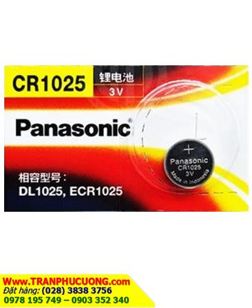 Pin đồng tiền 3v lithium Panasonic CR1025 chính hãng   còn hàng