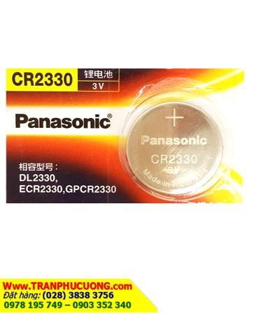Pin Panasonic CR2330 lithium 3V chính hãng   còn hàng