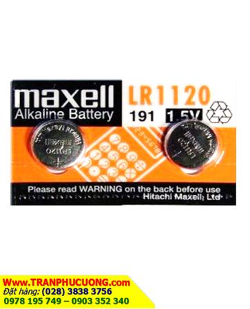 Pin LR1120 LR55 AG8 -Pin cúc áo 1.5v Alkaline Maxell LR1120 LR55 AG8 _1viên  HẾT HÀNG