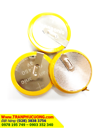 Pin Panasonic CR2450 (2 chân thép) Lithium 3v Made in Indonesia | HÀNG CÓ SẲN