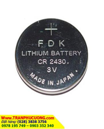 Pin CR2430 _Pin FDK CR2430: Pin 3v lithium FDK CR2430 chính hãng _1viên