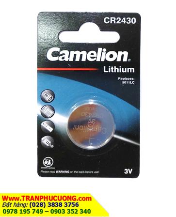Pin CR2430 _Pin Camelion CR2430; Pin 3v lithium Camelion CR2430 _Vỉ 1viên