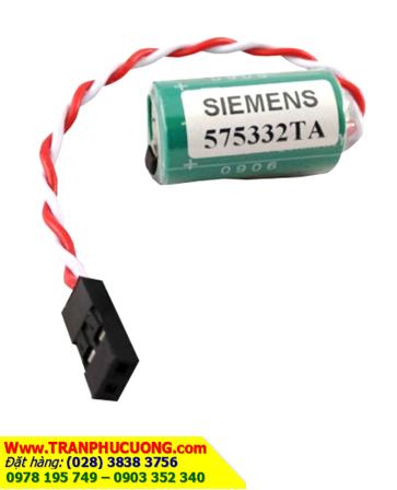 Pin SIEMENS 575332 lithium 3V chính hãng nuôi nguồn Siemens PLC/ hàng có sẳn
