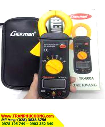 Đồng hồ Ampe Kìm Checkman TK-600A,đo dòng AC chính hãng Made in Korea| Có sẳn hàng - Bảo hành 6 tháng