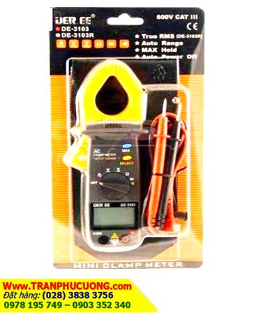 DEREE DE-3103; Đồng hồ đo điện Ampe kìm DEREE DE-3103 chính hãng Made in Taiwan| TẠM HẾT HÀNG