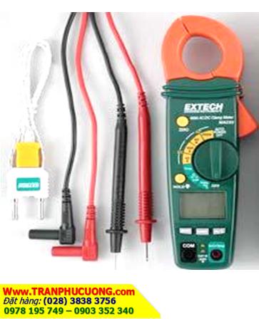 Ampe kìm đo dòng điện xoay chiều AC/DC 400A/ MA220-400A AC/DC Clamp Meter chính hãng Extech USA | Đặt hàng
