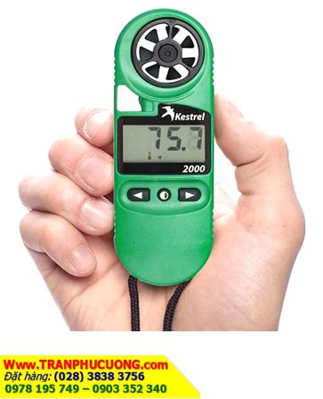 Kestrel 2000 _Máy đo vi khí hậu & Quan trắc thời tiết Kestrel 2000 Wind Meter (Xuất xứ USA) |CÒN HÀNG