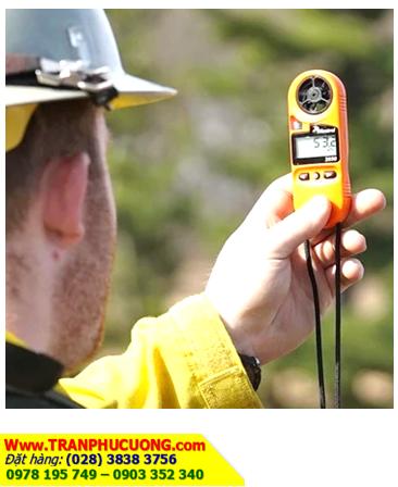 Kestrel 3550FW _Máy đo vi khí hậu trong Phòng Cháy Cứu Hộ Kestrel 3550FW Fire Weather Meter (Xuất xứ USA) |ĐẶT HÀNG